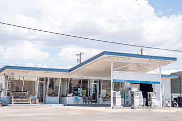 Aguilar Fina gas station.