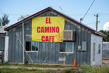 Exterior of El Camino Cafe.