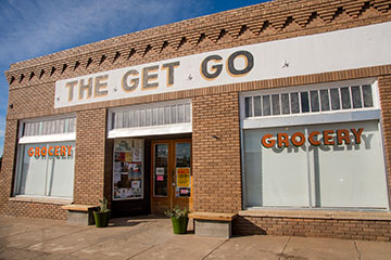 Exterior of The Get Go.